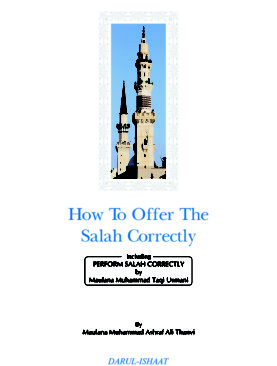 How To Offer The Salah Correctly