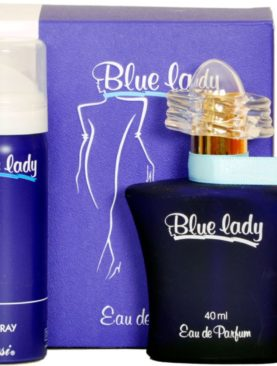 Blue Lady With Free Deo