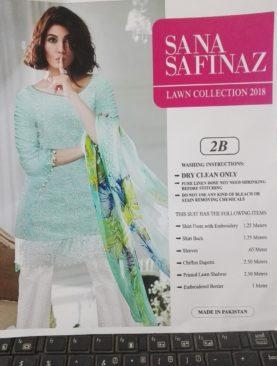 Lawn Suit SANA SAFINAZ