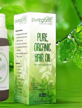 PUREGANIC HAIR OIL